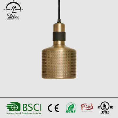 Newest modern gold aluminium+iron single  multiple heads chandelier hanging for hotel decoration