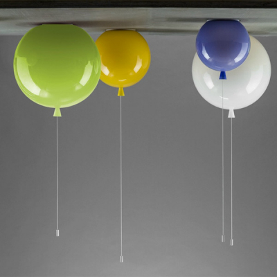 hot sales contemporary balloon ceiling light for children room